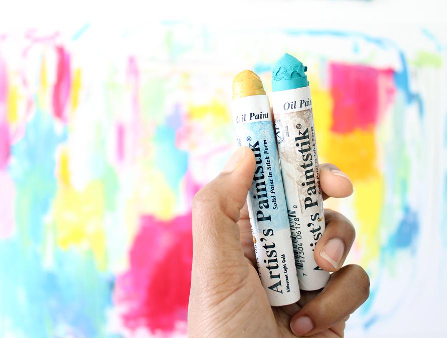 how to make your acrylics look like oils amira rahim