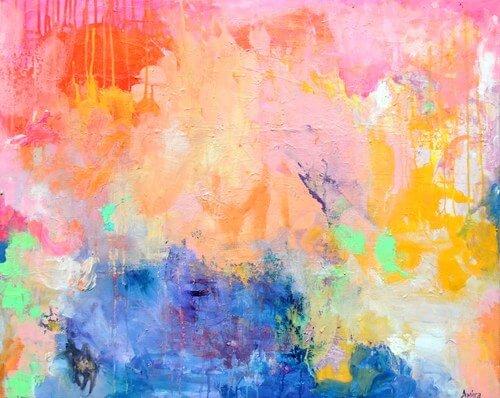 """My Particular Infinite"" 30x24"" Original Painting"