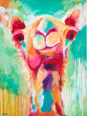 """""""Humphrey"""" Original Camel Painting"""