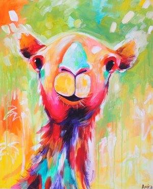 """""""Humphrey II"""" Original Camel Painting"""