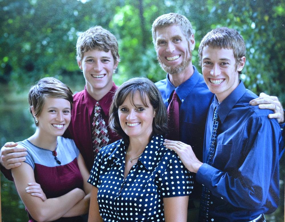 L-R: Rachel, Sam, Ellen, Fred, Jesse Faller