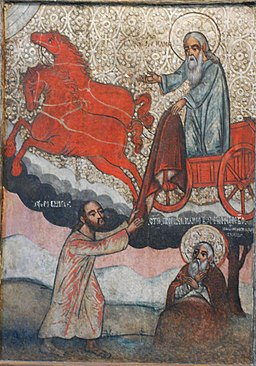 Elijah, 17th century Polish icon
