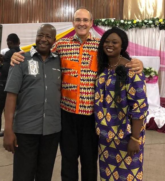 With preacher Moses & Honorine, Kinshasa, D.R. Congo