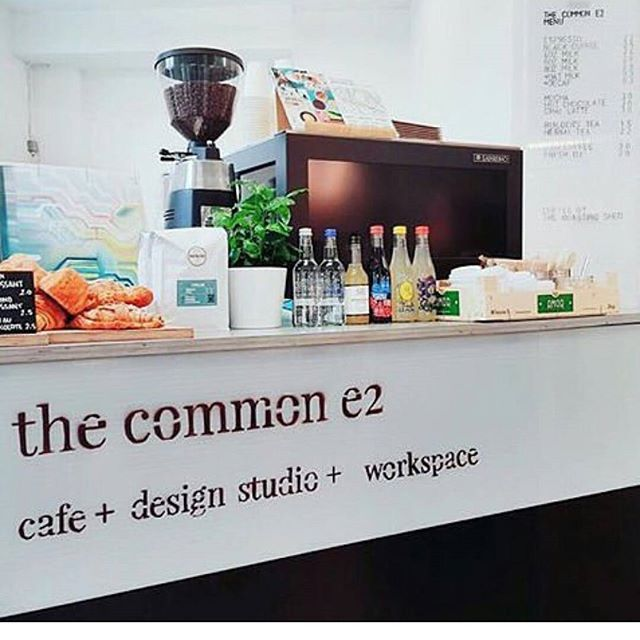 #regram helping our friends @thecommone2 smash it @ldndesignfair @trumanbrewery repping the delicious @theroastingshed 👍👌✌