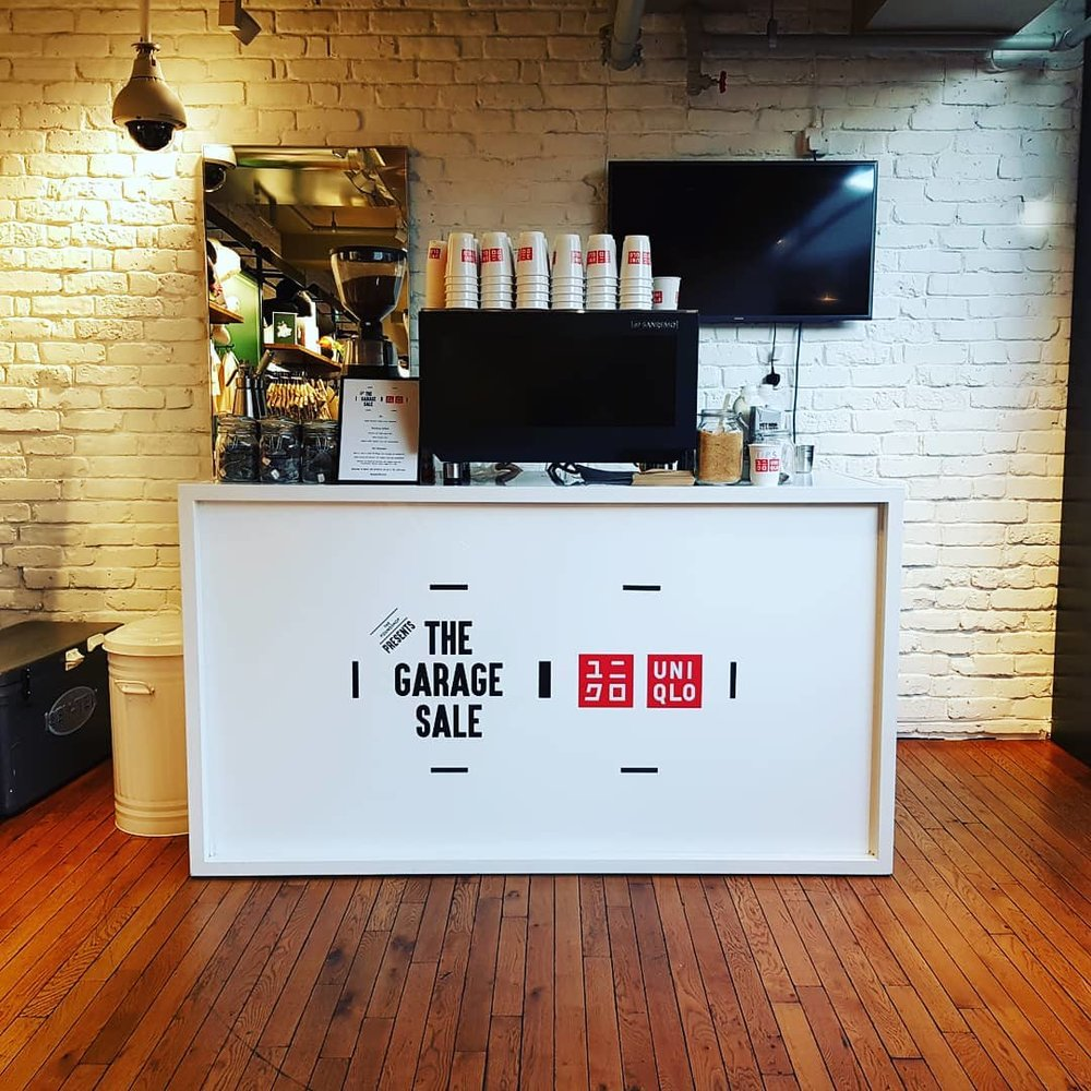 Coffee Space Uniqlo Branded Event Caterer