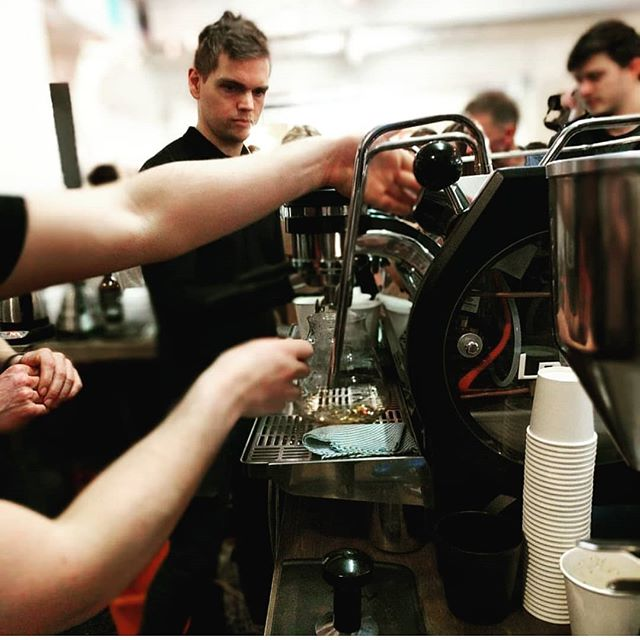 #regram Helping to power the magnificent @theroastingshed @londoncoffeefestival 2018. Come and have a chat with us about how we can cater your event at stand SO9. Try some #espresso + single origin #filtercoffee and a cheeky cocktail, with ingredients from @jarrkombucha 😍😘 #thelondoncoffeefestival #londoncoffee #londoncoffeefestival #lcf18 #eventprofsuk #eventcoffee #mobilecoffee #specialitycoffee