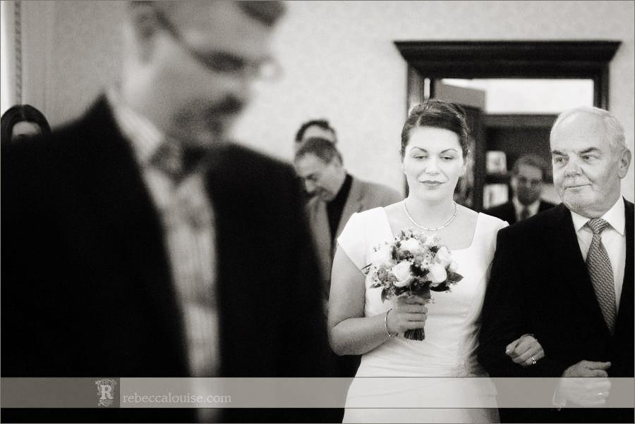 Chelsea Register Office wedding