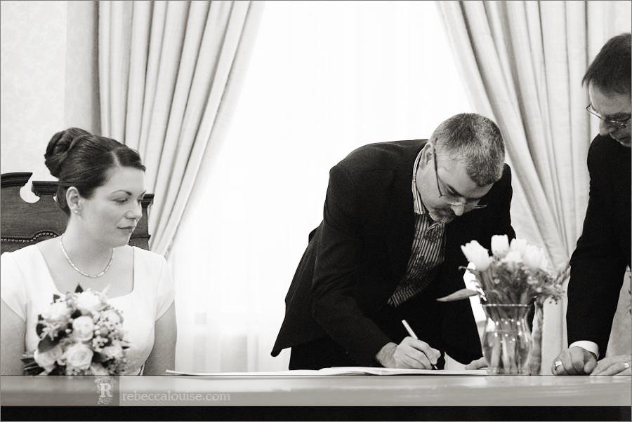 Chelsea wedding ceremony