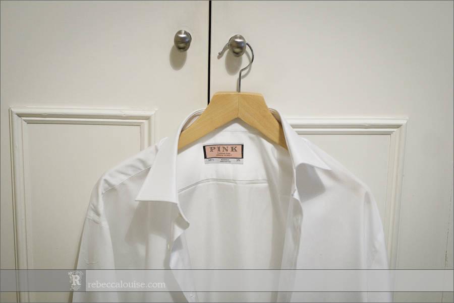 Thomas Pink white shirt