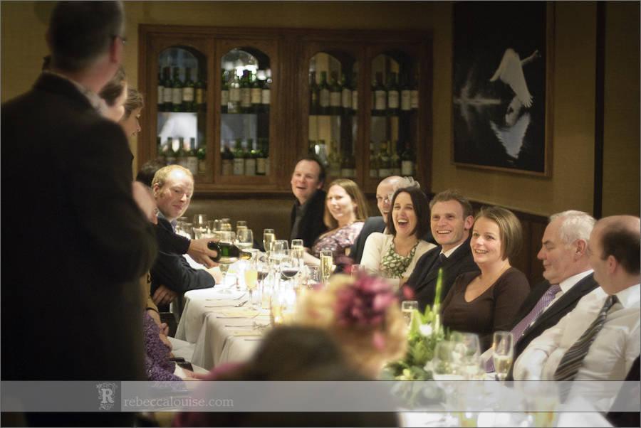 White Swan wedding speeches