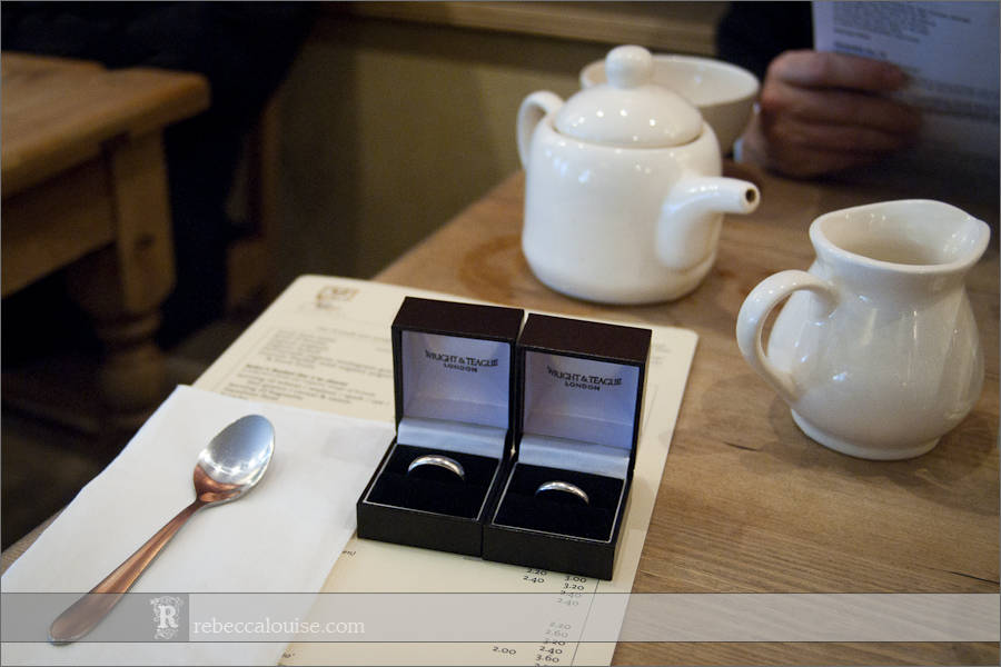 Wright and Teague wedding rings
