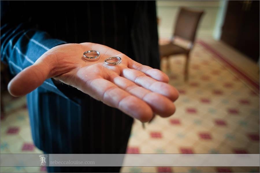 Claridge's wedding rings