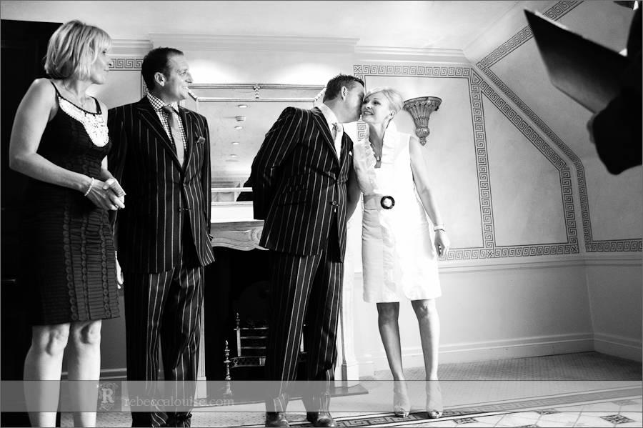 Friday wedding at Claridges Mayfair hotel
