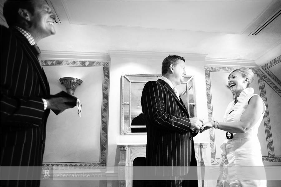 Claridge's wedding ceremony