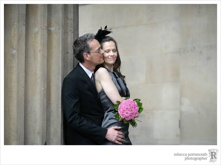 London wedding bridal portraits.