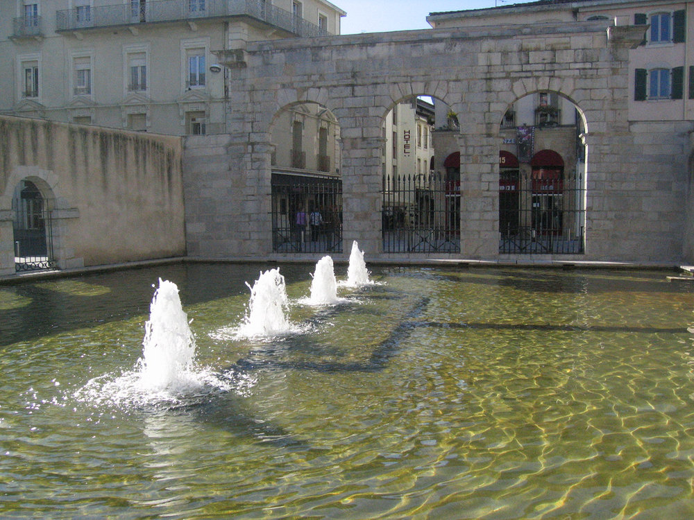 Fontaine d'eau chaude - Dax