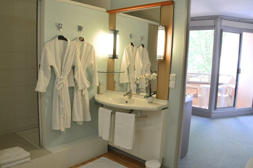 Salle de bains appartement Dax Hôtel