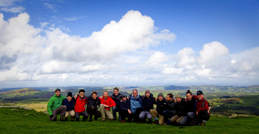 2014 Awakening Kings with a majestic Dartmoor backdrop a few minutes walk from the retreat venue.