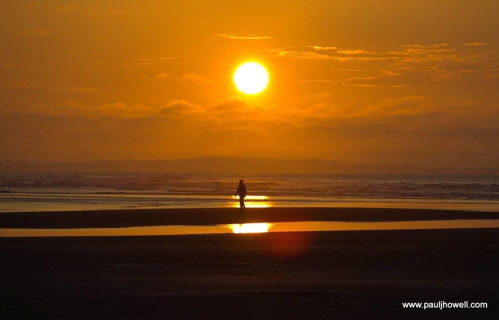 Findhorn Sunset Solitude