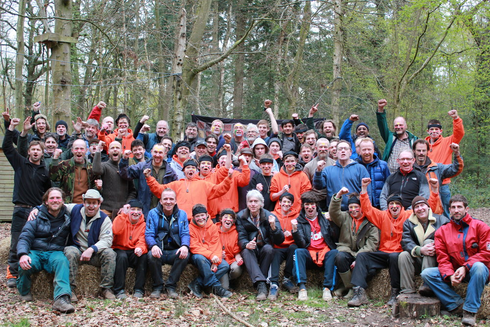 Journeyman UK before the coup. Rite of Passage weekend for 11 - 17 year old boys - 2012.