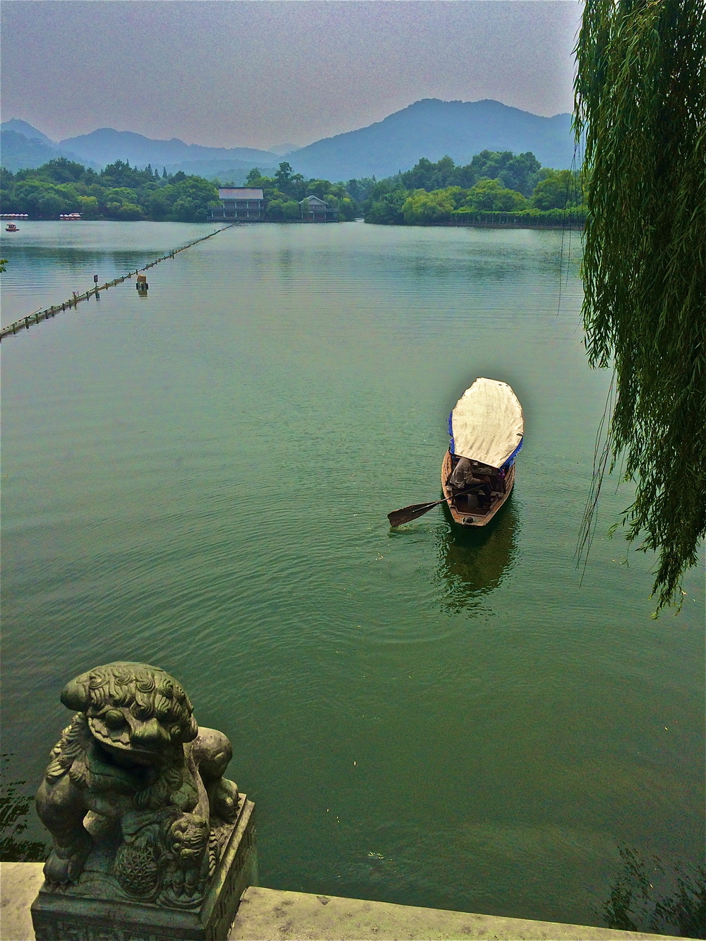 The west lake Hangzhou