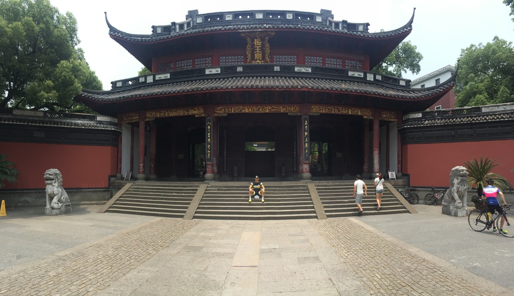 The old Temple in Hangzhou