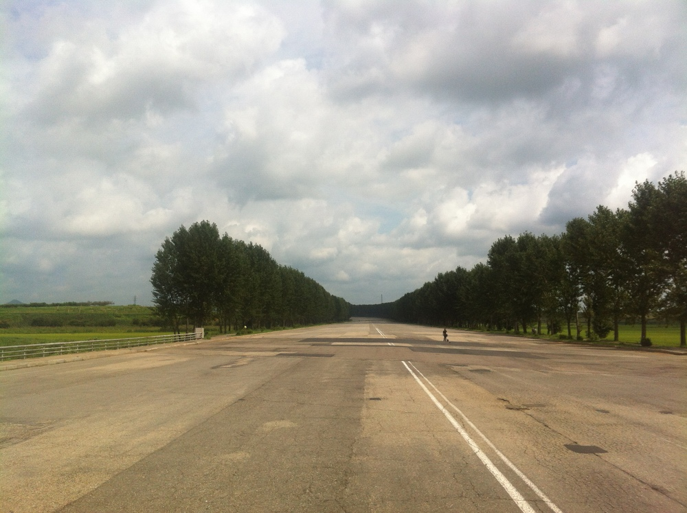 Empty Motorway