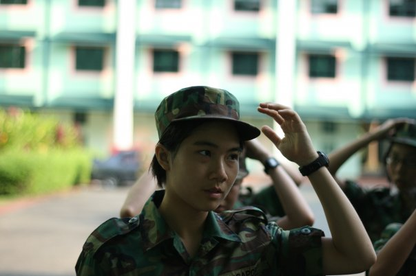 My first few days in the army..