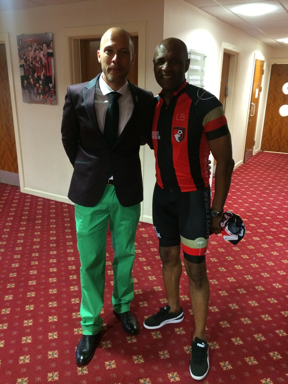 SD & Luther Blissett.
