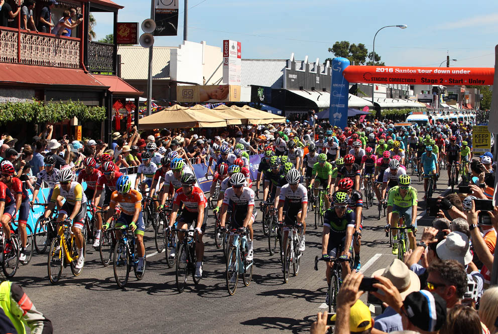 The race start at Unley