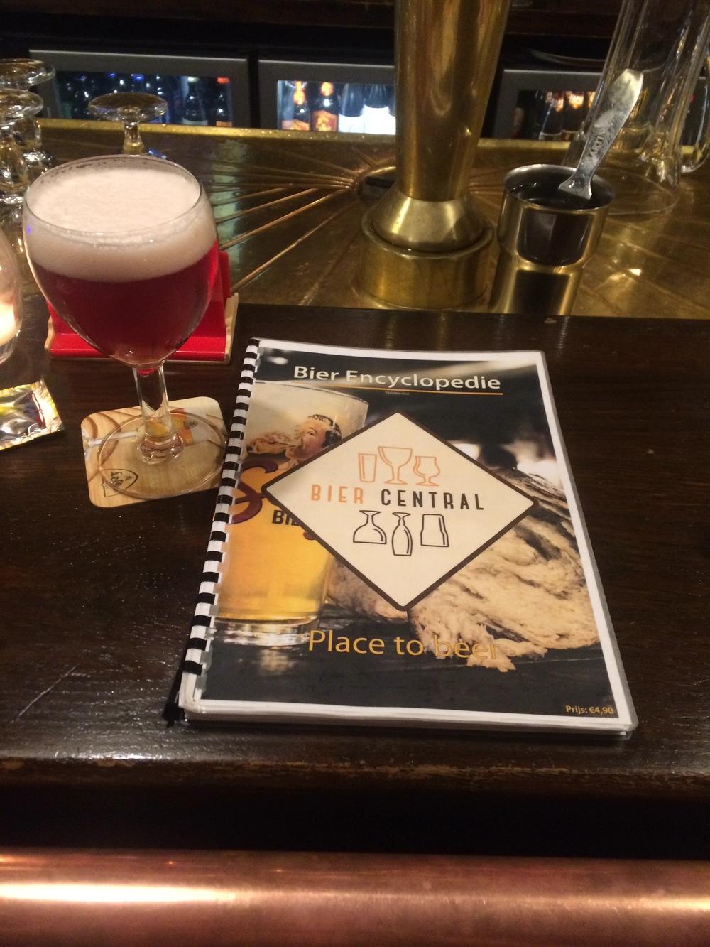 Antwerp Bier Central,300 beers in the Encyclopedie