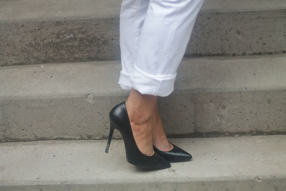 The only investment piece: MichaelKors Pumps