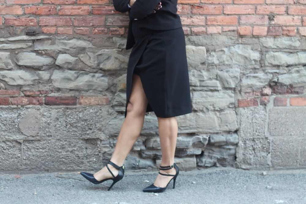 Express Skirt, Sam and Libby Shoes