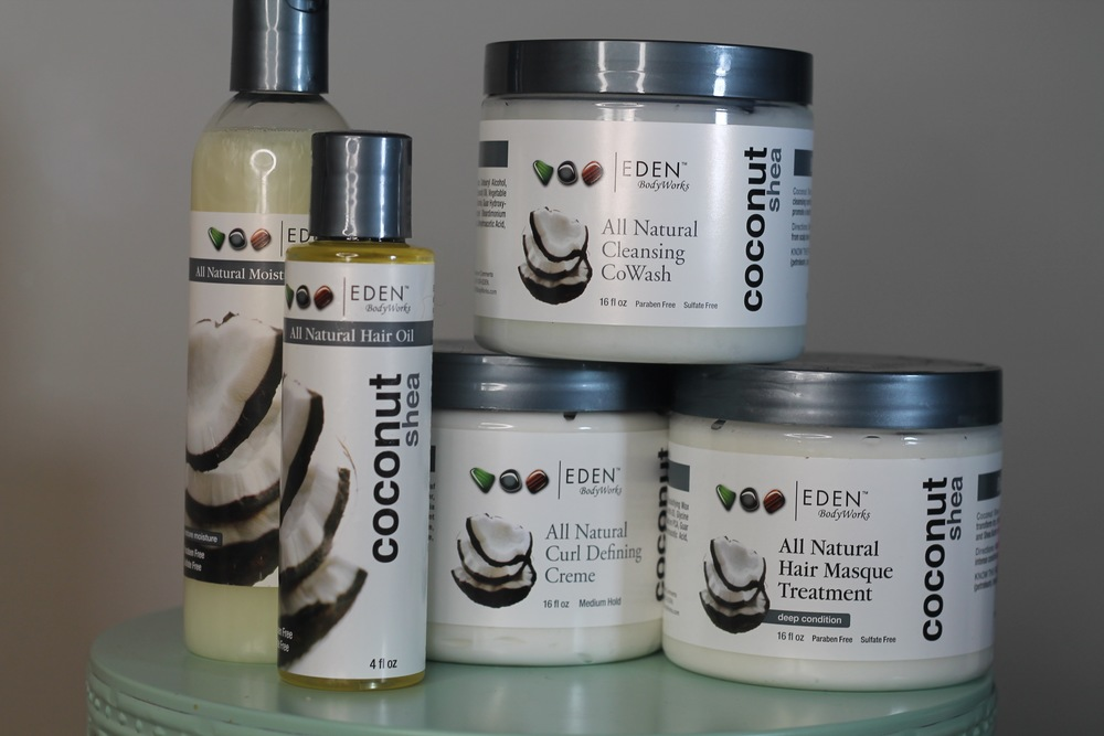 The Eden BodyWorks Coconut Shea Line