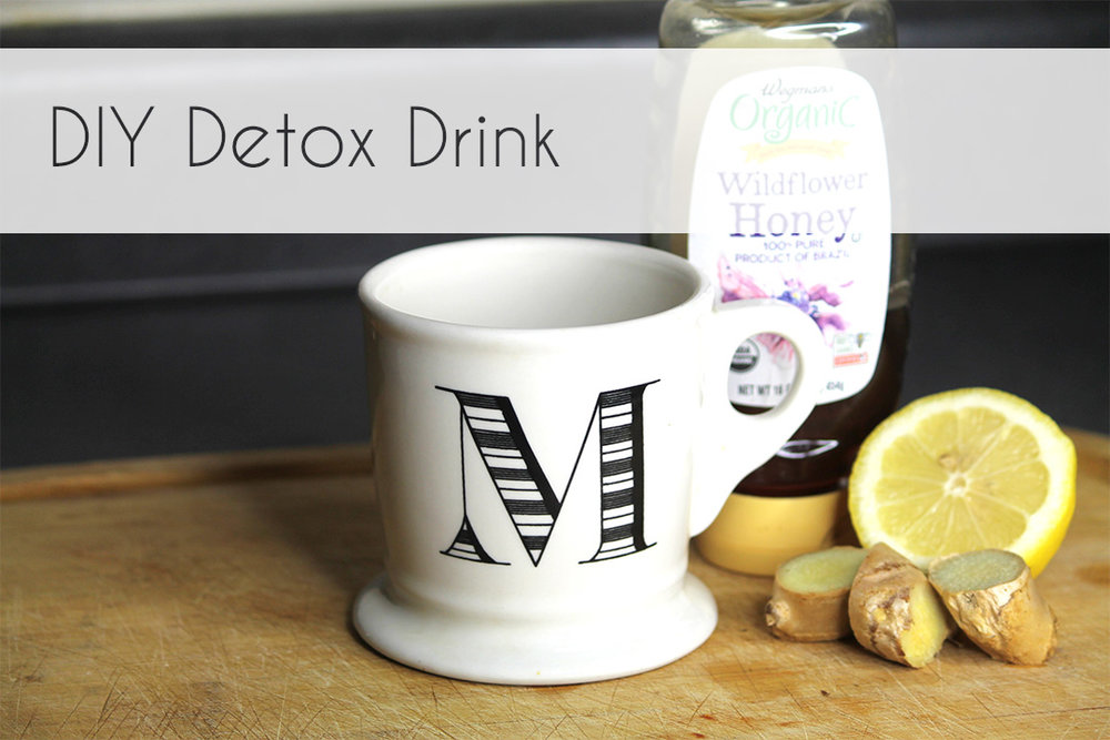 This simple DIY Detox Drink will remedy a few days of bad decisions AND the common cold.
