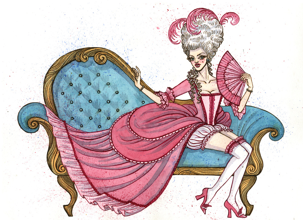 1700s-era Pin-up