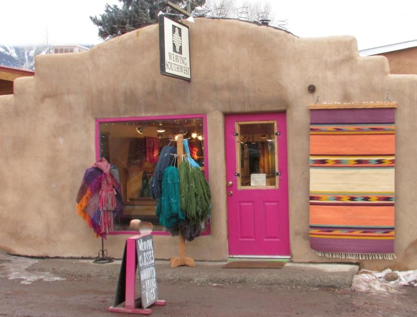 Weaving Southwest in Arroyo Seco, New Mexico
