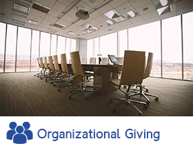 ORGANIZATIONAL GIVING