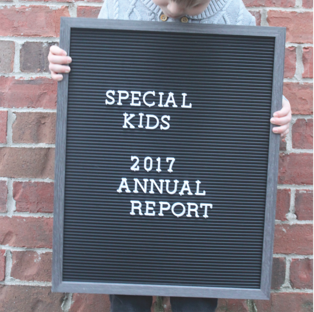 2017 Special Kids Annual Report