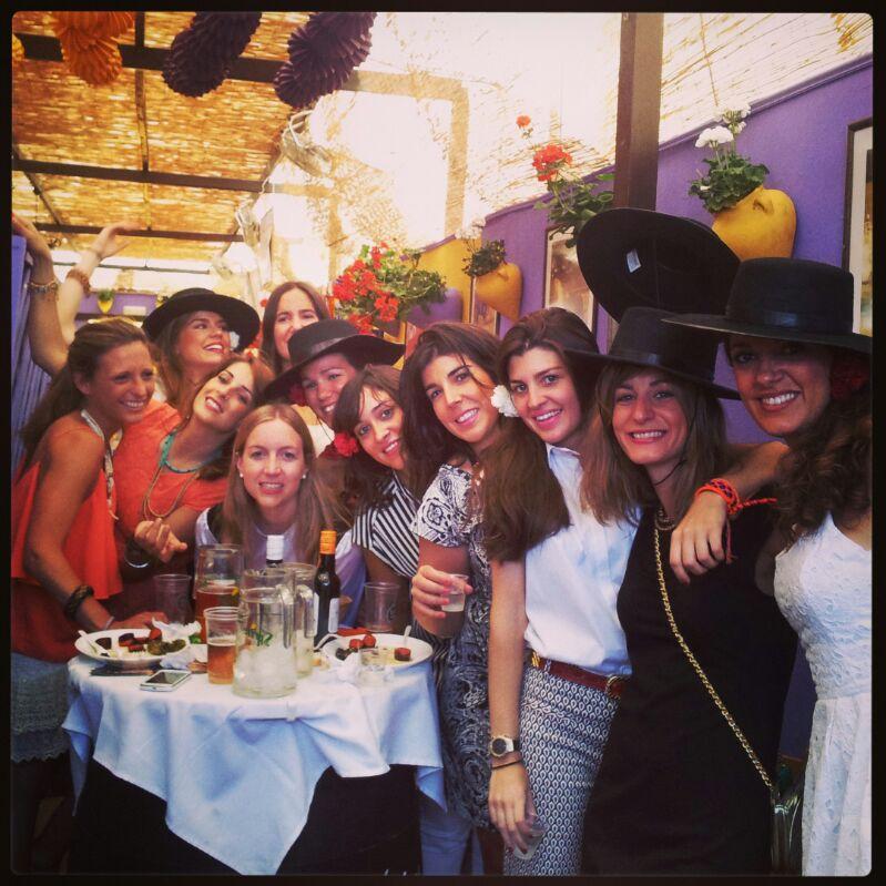 PARTYCOLARE y sus amigas de despedida de soltera de Ferry en Córdoba 2013