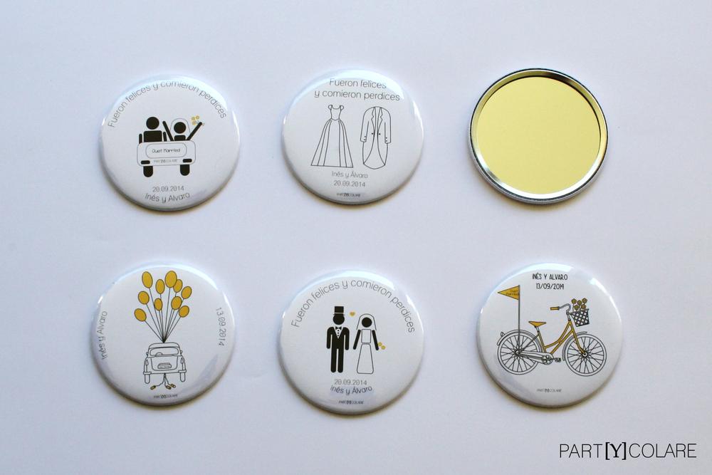 Los diseños de espejos de PARTYCOLARE.