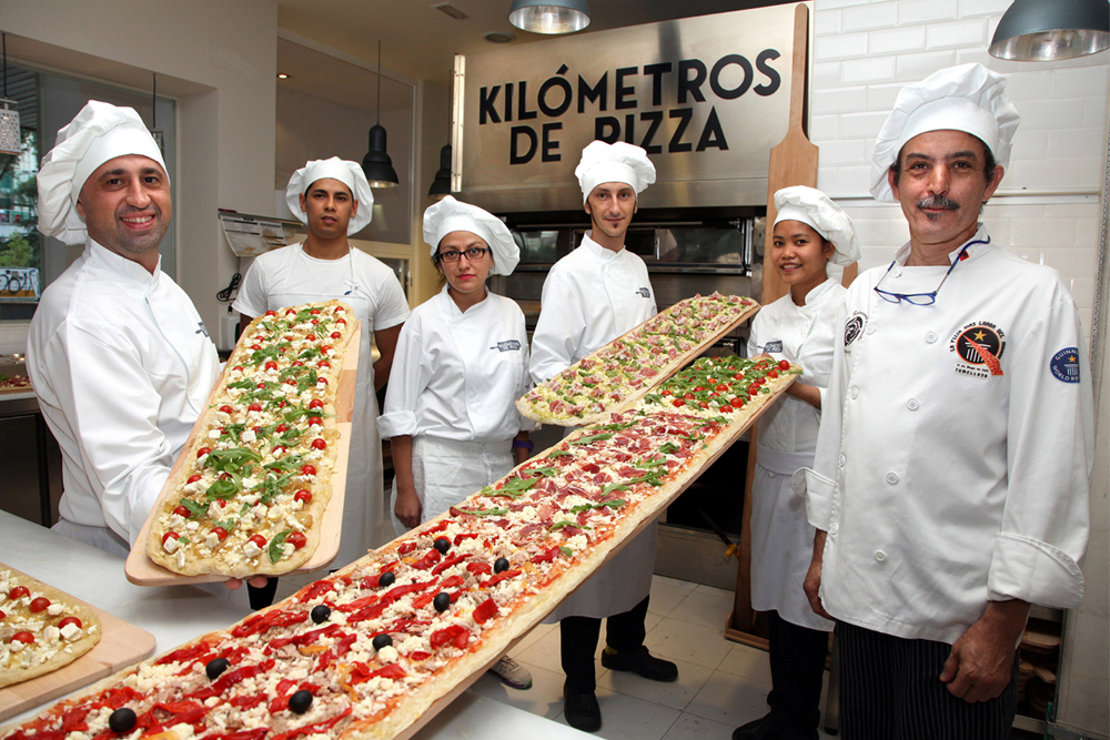 Foto: KILÓMETROS DE PIZZA.