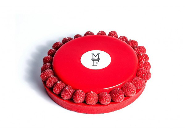 Deliciosa tarta de Mamá Framboise, también de venta online.