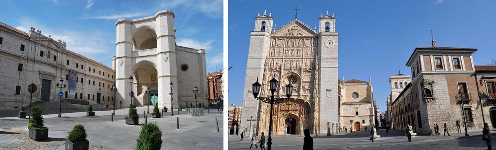 La espectacular iglesia de San Pablo, en Valladolid. Foto: Mercedes, deMer My Blog.