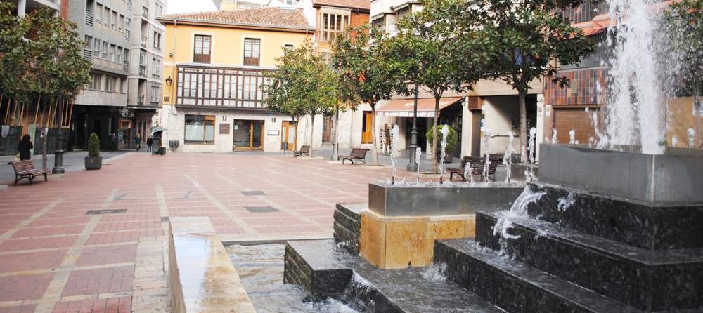 La llamada plaza Coca de Valladolid está escoltada por numerosos bares. Foto:Mercedes, de Mer My Blog.