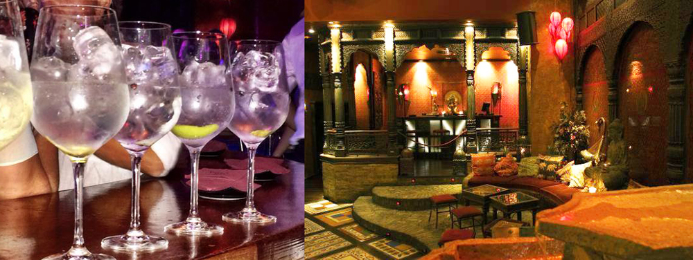 El pub de estilo oriental Ohm.Foto: Mercedes, de Mer My Blog.
