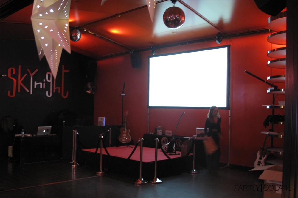 La agencia preparó hasta un escenario para que los invitados demostrasensus aptitudes locales.