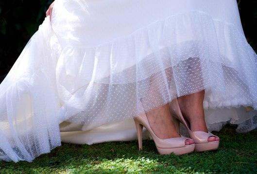 Los zapatos de Miu Miu que le regaló Rita a nuestra gran amiga Inma. Foto: María López Jurado.