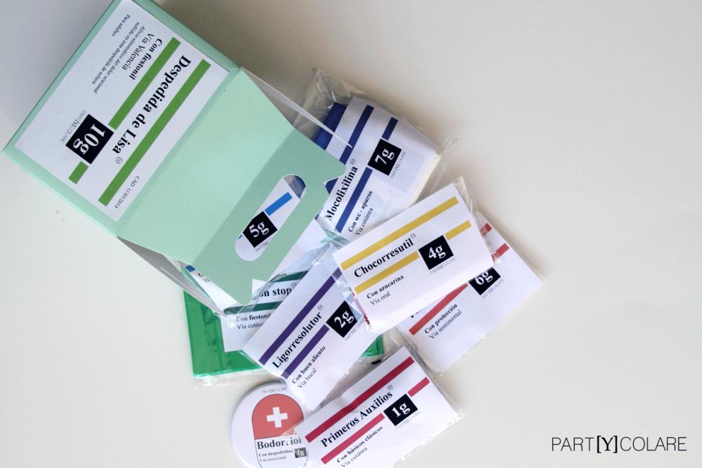 El KIT&FUN Médico incluye todos los fármacos para sobrevivir a una des  pedida