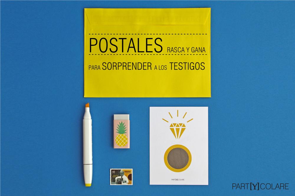 POSTALES TESTIGOS
